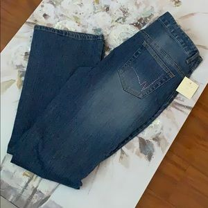 Nicole by Nicole Miller Boot Cut Jeans NWT